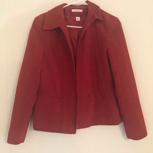 Red Dress Blazer